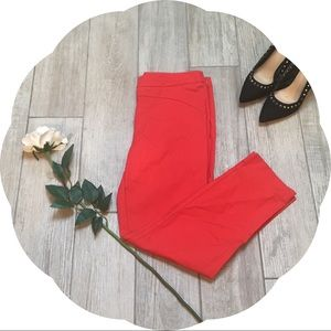 Forever 21 Red Tailored Dress Pants